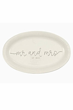 Shoptiques Product: Mr. & Mrs. Platter
