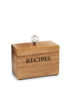 Shoptiques Product: Recipe Box