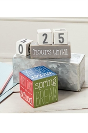 Mud Pie Gift School Break Countdown Blocks - Product Mini Image