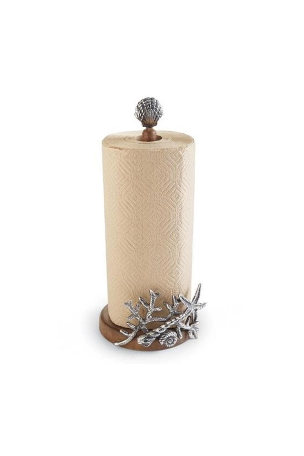 Mud Pie Gift Shell Papertowel Holder - Front Cropped Image