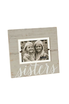 Mud Pie Gift Sisters Frame - Alternate List Image