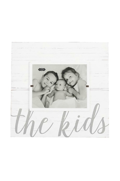 Mud Pie Gift The Kids Frame - Alternate List Image