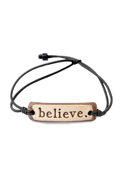 Shoptiques Product: Believe Bracelet