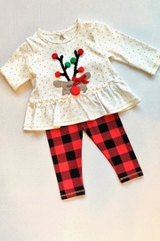 MudPie Alpine Check Set - Front cropped
