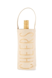 MUDPIE Cheers Wine Bag - Product Mini Image