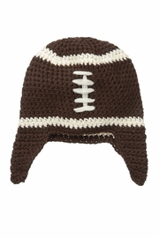 MUDPIE Knit Football Hat - Product Mini Image