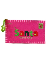 MUDPIE Letter-To-Santa Ornament - Front cropped