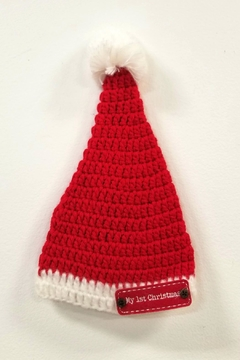 Shoptiques Product: My-1st-Christmas Crochet Hat