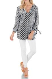 Mud Pie Print Jersey Tunic - Product Mini Image