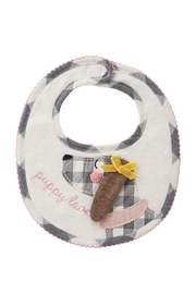MUDPIE Puppy Love Bib - Front cropped