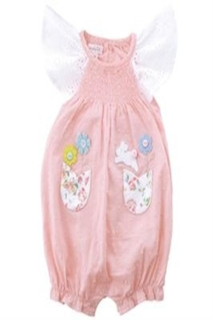 MUDPIE Smocked Bubble Bunny - Product List Image
