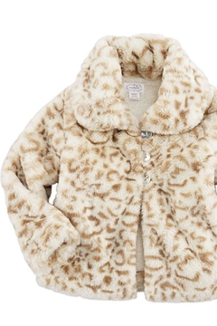 MudPie Tan Faux Fur Jacket - Alternate List Image
