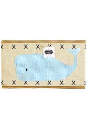 Mud Pie Whale Pillow Wrap - Product Mini Image