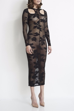 Shoptiques Product: Floral Mesh Dress
