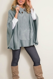 Simply Noelle Muff Cowl Poncho - Product Mini Image