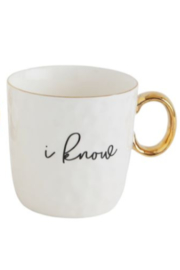 The Birds Nest MUG WITH I LOVE YOU SAYINGS - Front cropped
