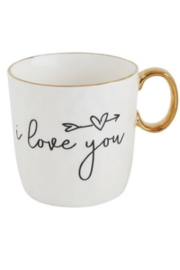 The Birds Nest MUG WITH I LOVE YOU SAYINGS - Product Mini Image