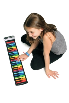 Shoptiques Product: Rainbow Roll-Up Piano