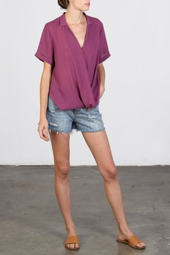 Shoptiques Product: Mulberry Drape Top