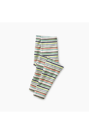 Tea Collection Mulitstripe  Baby Leggings - Front cropped