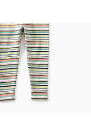 Tea Collection Mulitstripe  Baby Leggings - Side cropped