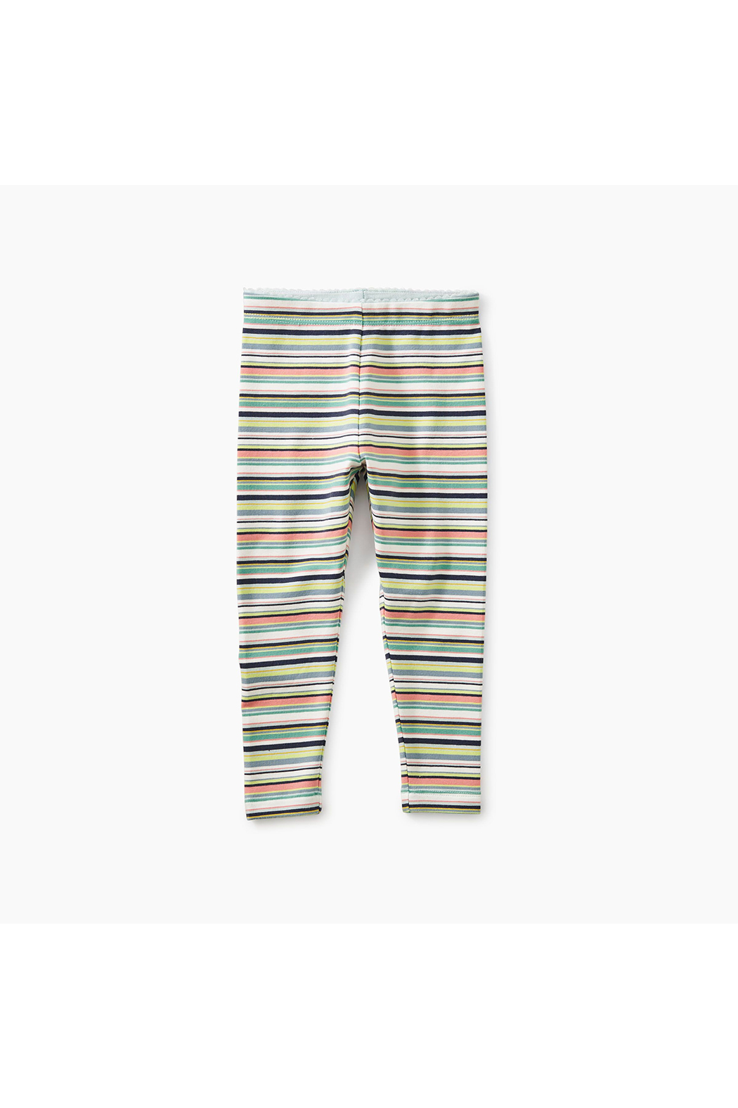 Tea Collection Mulitstripe  Baby Leggings - Front Full Image