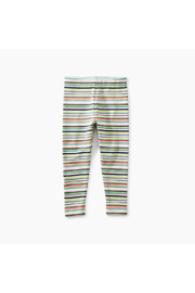 Tea Collection Mulitstripe  Baby Leggings - Front full body