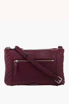 Shoptiques Product: Mulled Wine Leather Carryall Crossbody