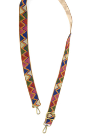 Joy Susan  Multi Aztec Embroidered Strap - Product Mini Image