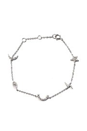 Lets Accessorize Multi-Charm Universe Bracelet - Product Mini Image