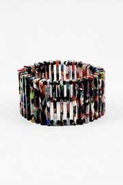 Lets Accessorize Multi-Color Bar Bracelet - Product Mini Image