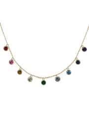 Jaimie Nicole Multi Color Charm-Necklace - Product Mini Image