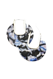 Lets Accessorize Multi-Color Disc Earrings - Product Mini Image
