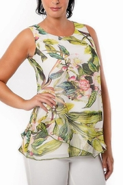 Bali Corp Multi Color Floral Sleeveless Top - Product Mini Image
