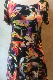 Libra multi color floral tunic - Product Mini Image