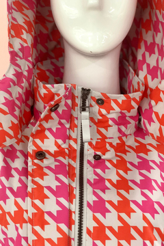 Shoptiques Product: Multi Color Gingham Rain Coat