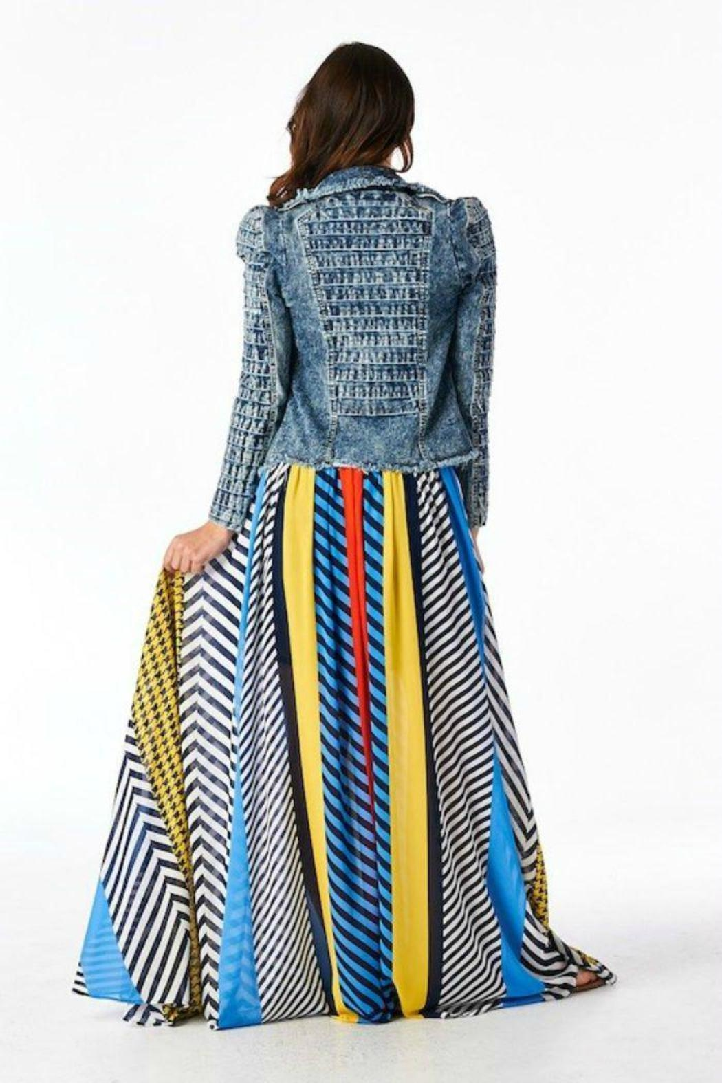 Multi-Color Maxi Skirt from New Jersey by The VIP Boutique ...