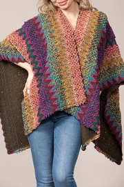 Rain + Rose  Multi color Poncho - Product Mini Image