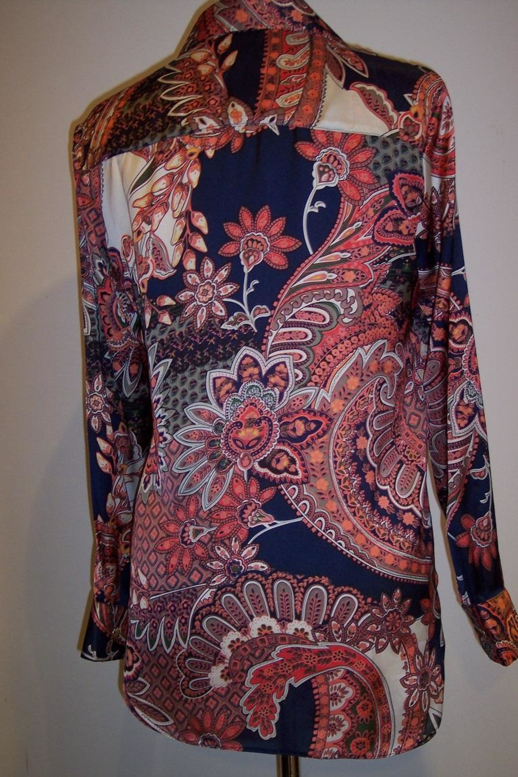 Vipavadee Multi-Color Print Shirt - Front Full Image