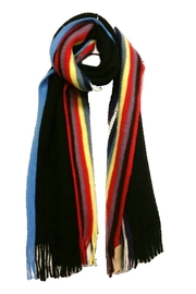 Lets Accessorize Multi-Color Stripe Scarf - Product Mini Image