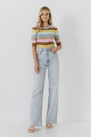 English Factory Multi Color Stripe Sweater - Other