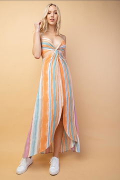 lelis Multi-Color Striped Midi-Dress - Product List Image