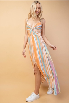 lelis Multi-Color Striped Midi-Dress - Alternate List Image