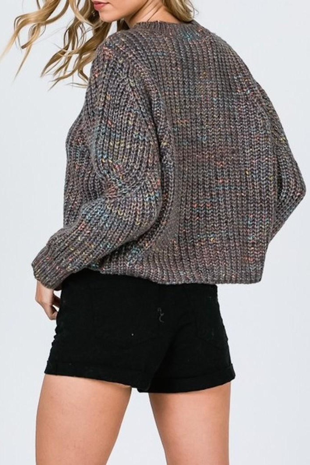 &merci Multi Color Sweater - Side Cropped Image