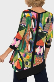 Joseph Ribkoff USA Inc. Multi Color Tunic - Front full body