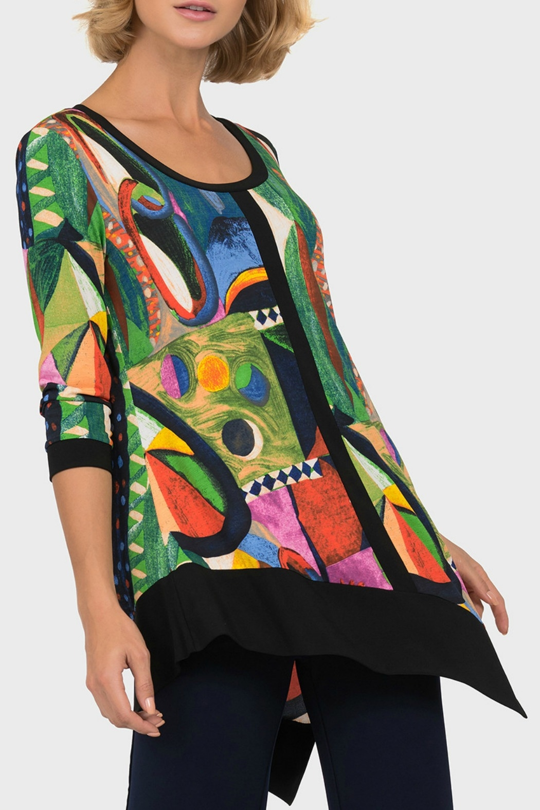Joseph Ribkoff USA Inc. Multi Color Tunic - Main Image