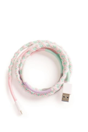The Birds Nest MULTI COLOR USB CHARGING CABLE - Product Mini Image