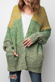 easel Multi-Colored Cardigan - Product Mini Image