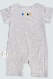 T & Tim Multi-Colored Jumpsuit with Bubble Writing - Front full body