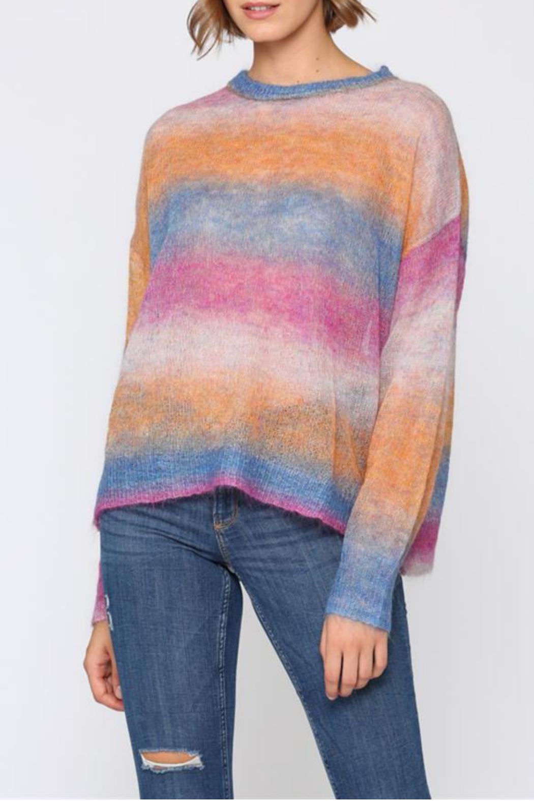 Fate Multi colored, light weight sweater - Main Image